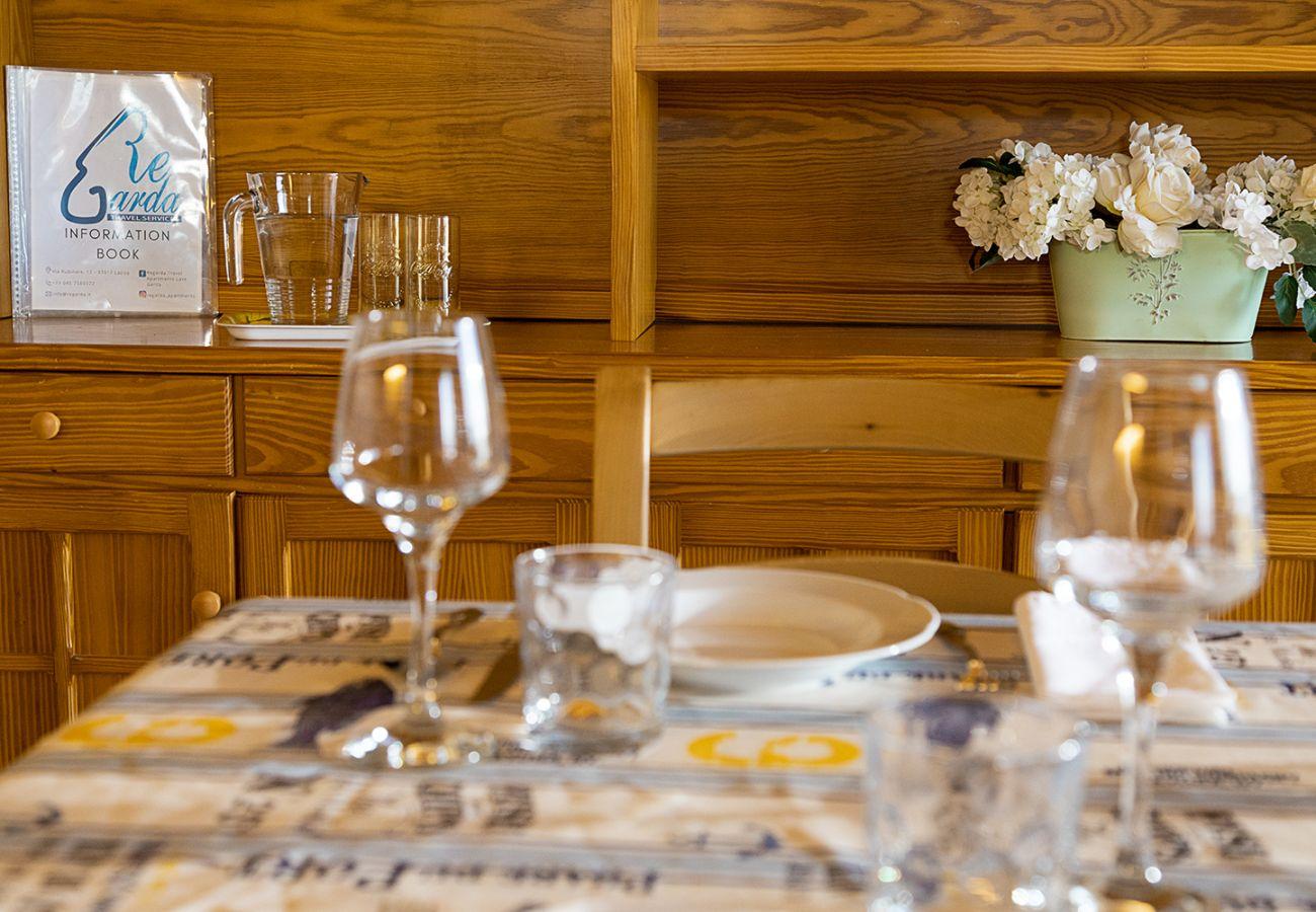 Ferienwohnung in Lazise - Regarda - Dreizimmerwohnung